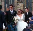 La gran boda escocesa de Andy Murray