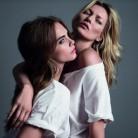Kate Moss y Cara Delevingne, juntas en la campaña de Mango