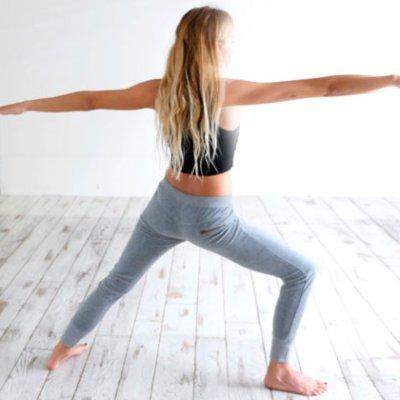Yoga en casa: Posturas de yoga para fortalecer las piernas