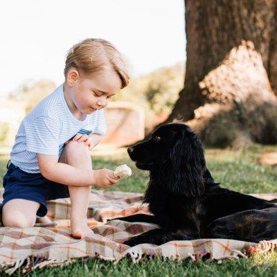 George de Cambridge cumple 3 años