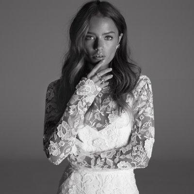 Inspiración para novias: el punto rockero de Rime Adoraky