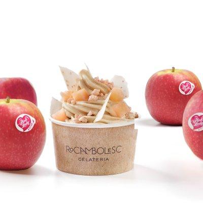 Jordi Roca diseña el primer helado de manzanas Pink Lady