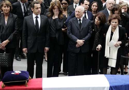 Los funerales de Yves Saint Laurent