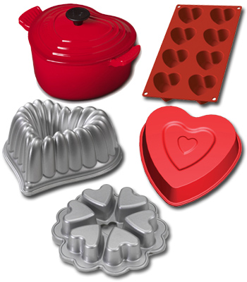 Accesorios de cocina para San Valentín en Cuisine Paradiso