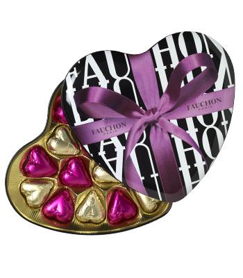 Corazón de chocolate de Fauchon