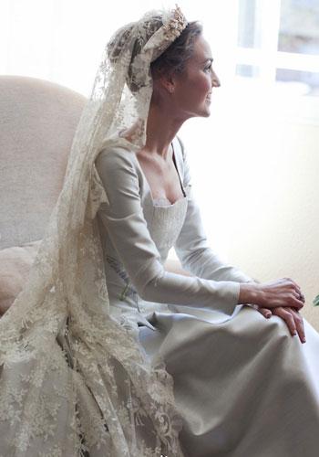 Mantilla de novia - TELVA