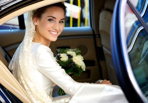 novia en coche - TELVA