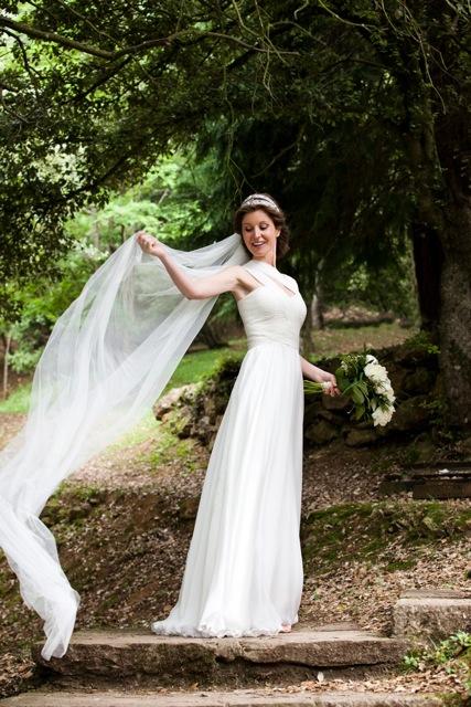 novia con ramo -TELVA