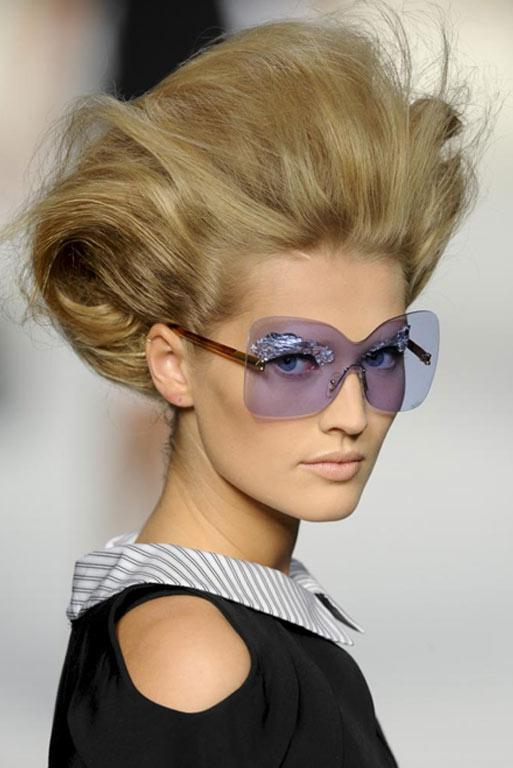 Gafas cristal de color-TELVA