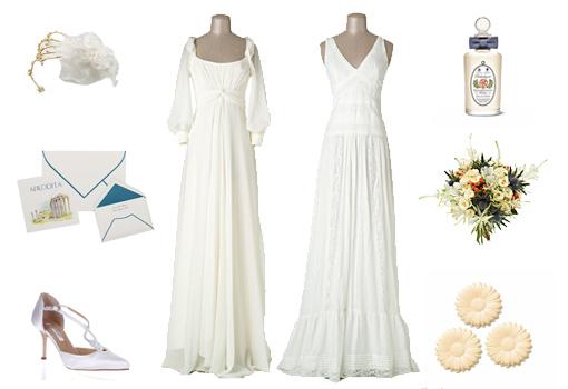 Complementos para vestido novia