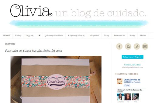 Olivia, un blog de cuidado - TELVA