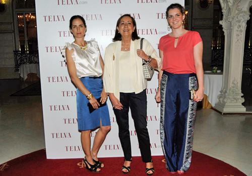 Carolina, Nieves y Elisa - TELVA