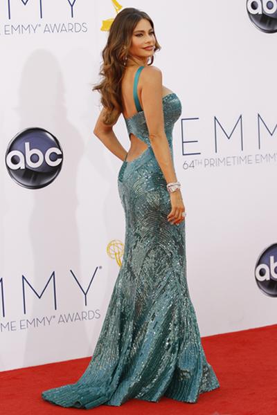 Sofía Vergara en los Emmy con vestido de Zuhair Murad - TELVA