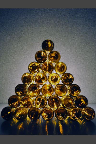 Árbol de Navidad reciclado - TELVA