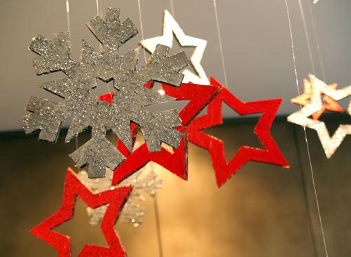 Estrellas y copos para decorar - TELVA