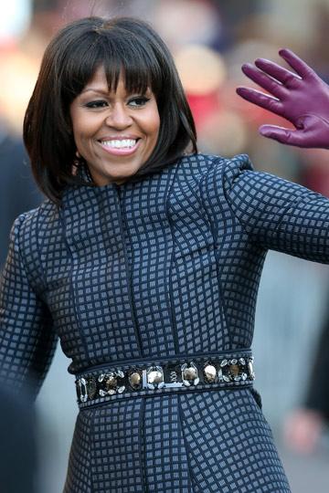 Bob + flequillo by Michelle Obama - TELVA