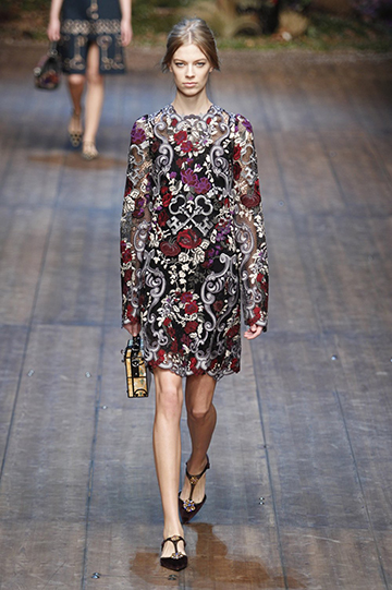 Dolce & Gabbana Otoño Invierno 2014 2015 foto 38 - TELVA