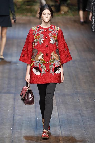 Dolce & Gabbana Otoño Invierno 2014 2015 foto 66 - TELVA