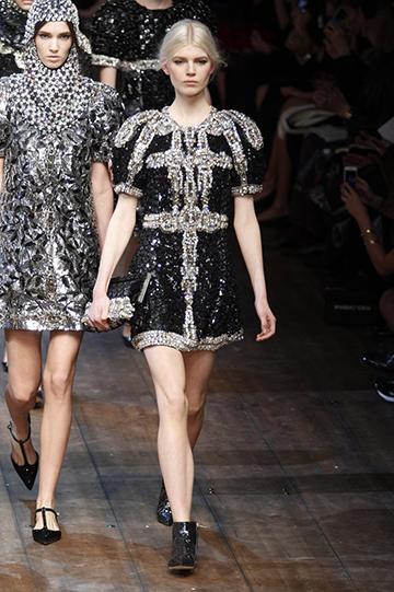 Dolce & Gabbana Otoño Invierno 2014 2015 foto 03 - TELVA
