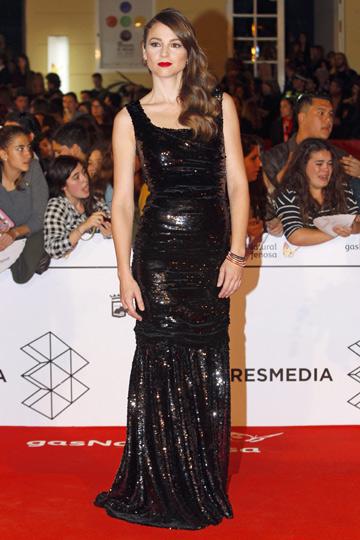 Leonor Watling en el Festival de Cine de Málaga. - TELVA