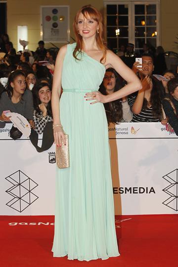 Cristina Castaño en el Festival de Cine de Málaga. - TELVA