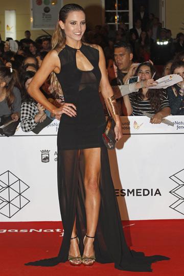 Ana Fernández durante el Festival de Cine de Málaga. - TELVA