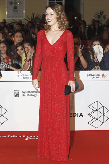 Silvia Abascal en el Festival de Cine de Málaga. - TELVA