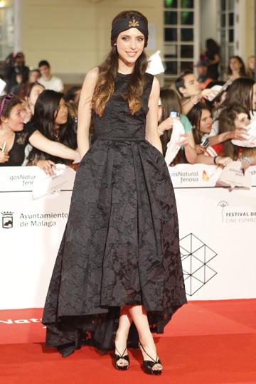 Leticia Dolera en el Festival de Cine de Málaga. - TELVA
