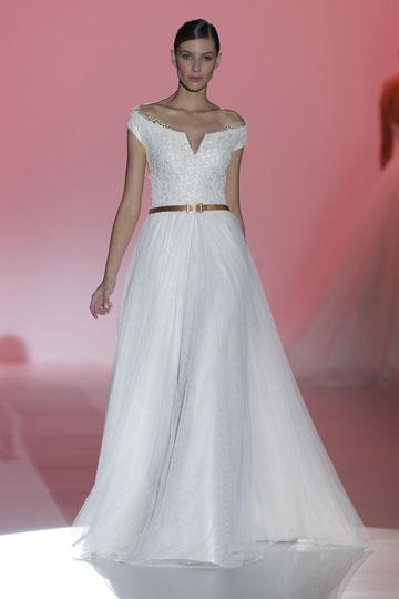 Los vestidos de novia de Hannibal Laguna foto 23 - TELVA