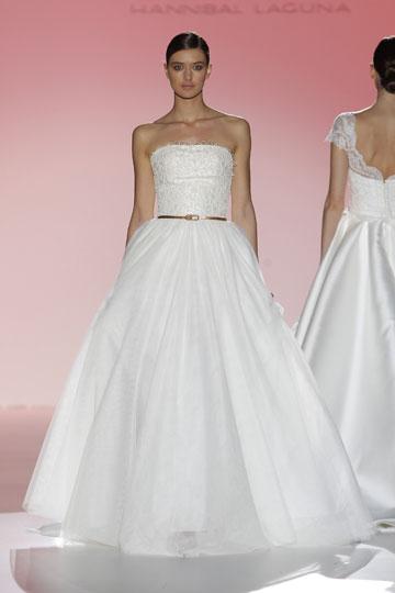 Los vestidos de novia de Hannibal Laguna foto 22 - TELVA