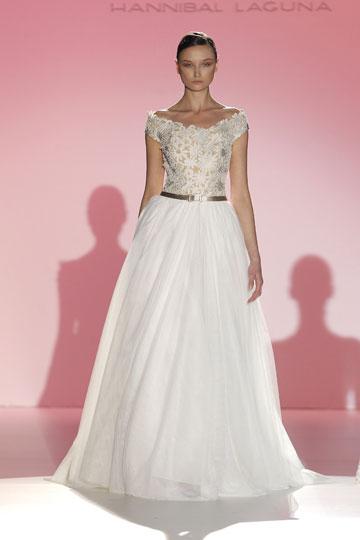 Los vestidos de novia de Hannibal Laguna foto 25 - TELVA