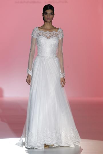 Los vestidos de novia de Hannibal Laguna foto 19 - TELVA