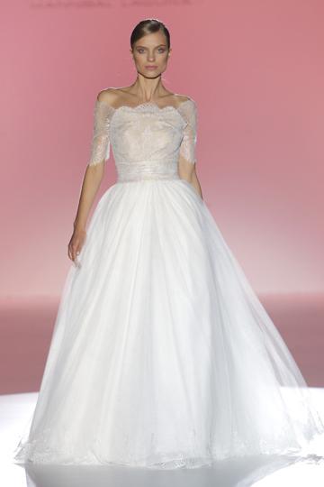 Los vestidos de novia de Hannibal Laguna foto 16 - TELVA