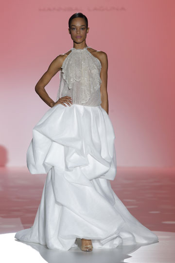Los vestidos de novia de Hannibal Laguna foto 32 - TELVA