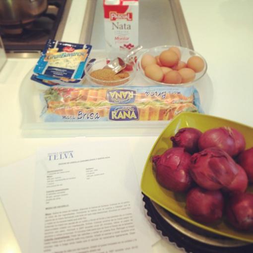 Los ingredientes de la quiche - TELVA