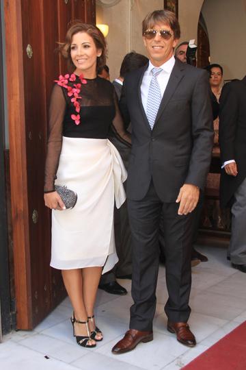 Virginia Troconis y Manuel Díaz