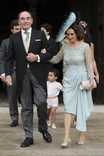 El actual presindente de Iberdrola Ignacio Sánchez Galán y su esposa. - TELVA