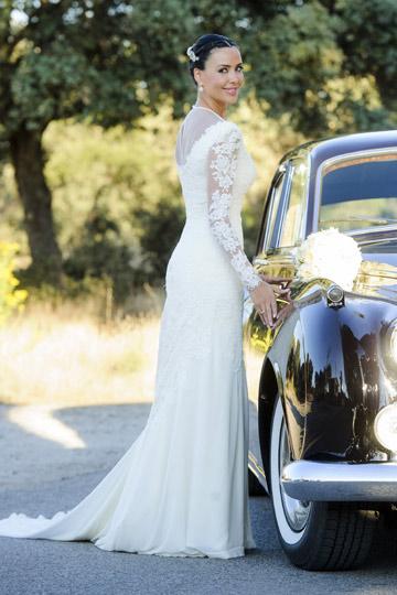 El vestido de novia de Vania Millán. - TELVA
