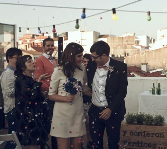 La boda con estilo de Conchi y Al