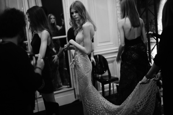 Atelier Versace Primavera Verano 2015 - Backstage - Foto 1