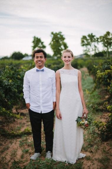 La boda con estilo de Inés y Juan
