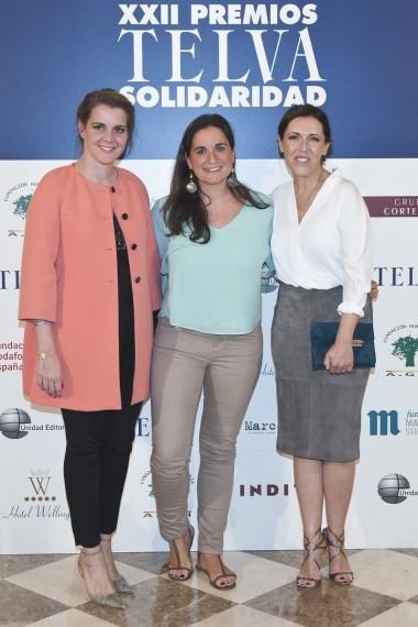 Elisa �lvarez, Alexia Vieira y Olga Ruiz
