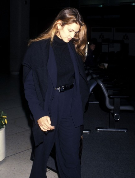Estilo working girl por Cindy Crawford en los 90