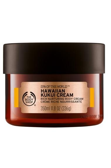 <em>Hawaiian Kukui Cream</em>, de The Body Shop