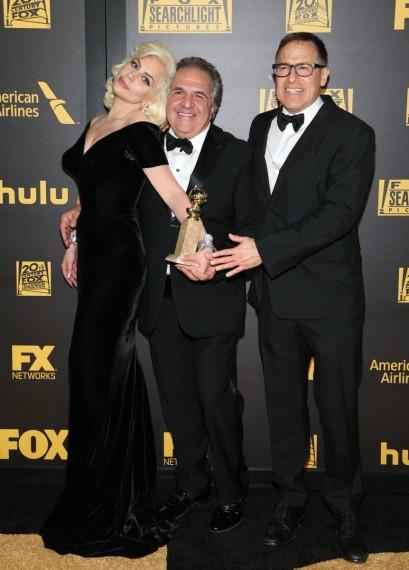 Lady Gaga, Jim Gianopulos y David O. Russell