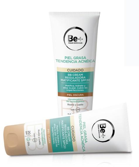 BB Cream para pieles grasas de Be+