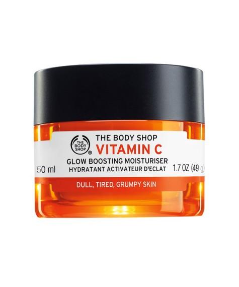 Hidratante iluminadora con vitamina C de The Body Shop