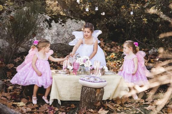 Una fiesta de hadas y princesas en Carnaval