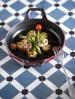 Plato con verduras y pescado a la plancha de el Cantinho de Avillez.