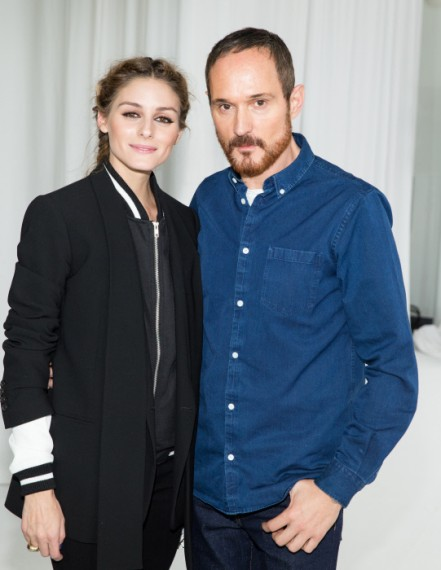 Olivia Palermo y Josep Font